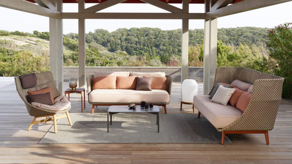 Sofa extérieur Dedon
