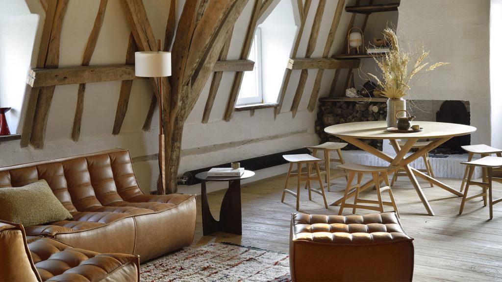 Présentation salon et table chaise Ethnicraft