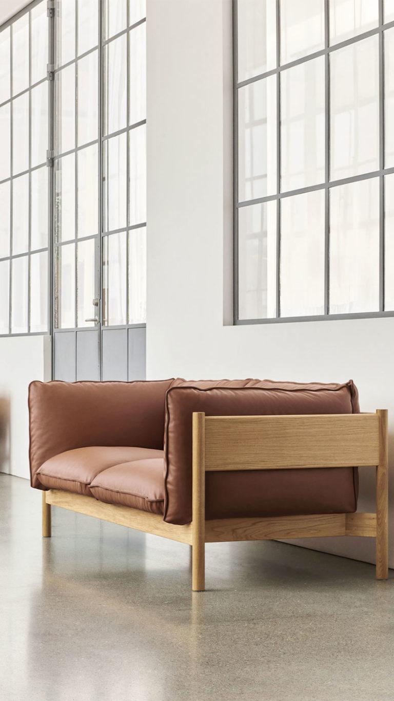 Sofa 2 places Hay